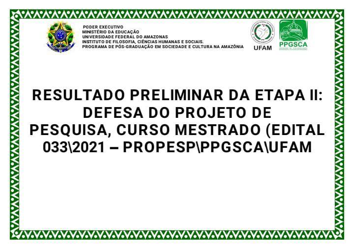 RESULTADO PRELIMINAR ETAPA 2