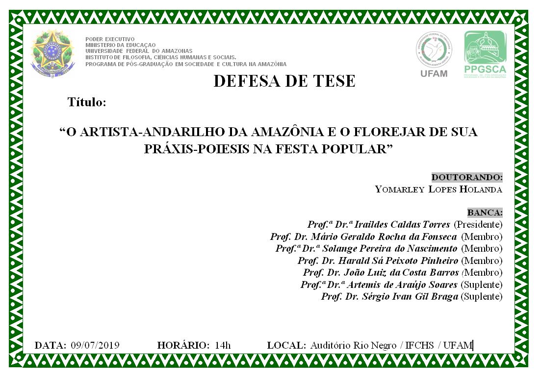 Defesa Tese Yomarley